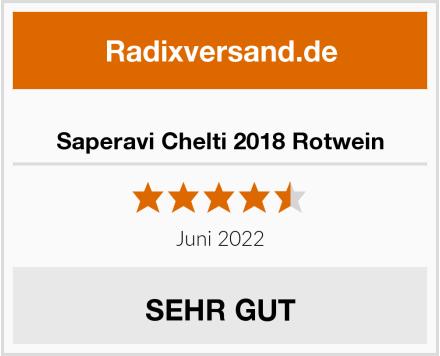 Saperavi Chelti 2018 Rotwein Test