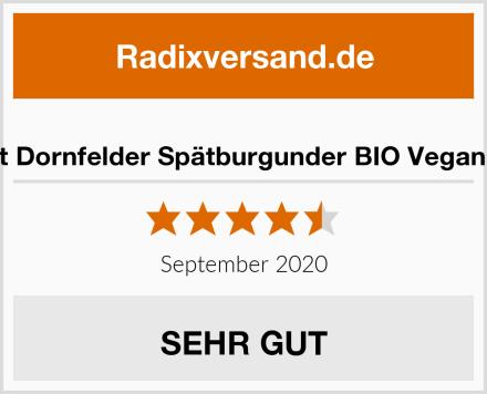 Landlust Dornfelder Spätburgunder BIO Vegan trocken Test