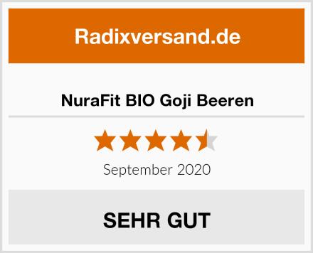 NuraFit BIO Goji Beeren Test