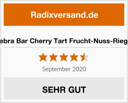 Zebra Bar Cherry Tart Frucht-Nuss-Riegel Test