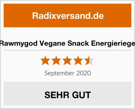 Rawmygod Vegane Snack Energieriegel Test