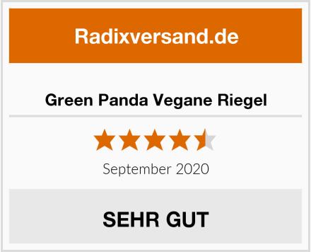 Green Panda Vegane Riegel Test