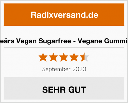 Powerbeärs Vegan Sugarfree - Vegane Gummibärchen Test