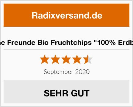 """Freche Freunde Bio Fruchtchips """"100% Erdbeere"""" Test"""