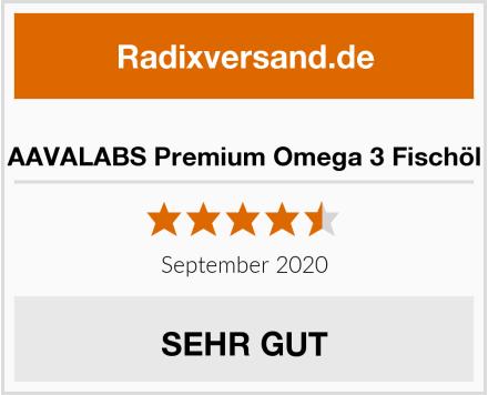 AAVALABS Premium Omega 3 Fischöl Test