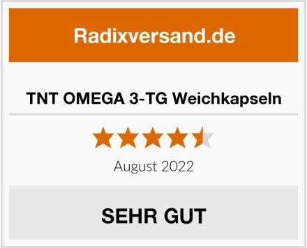 TNT OMEGA 3-TG Weichkapseln Test