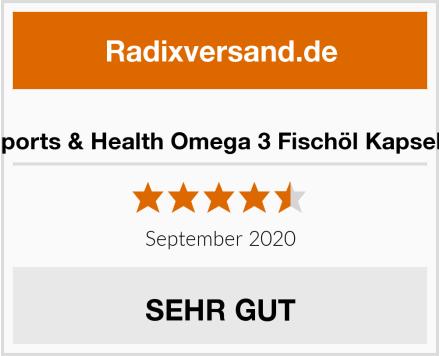 Sports & Health Omega 3 Fischöl Kapseln Test