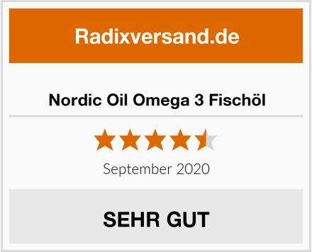 Nordic Oil Omega 3 Fischöl Test