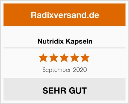Nutridix Kapseln Test