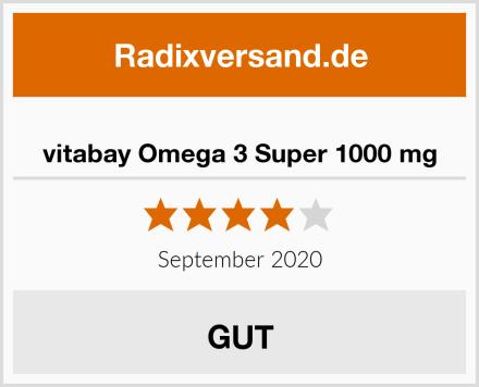 vitabay Omega 3 Super 1000 mg Test
