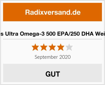 Now Foods Ultra Omega-3 500 EPA/250 DHA Weichkapseln Test