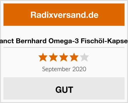 Sanct Bernhard Omega-3 Fischöl-Kapseln Test