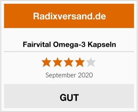 Fairvital Omega-3 Kapseln Test