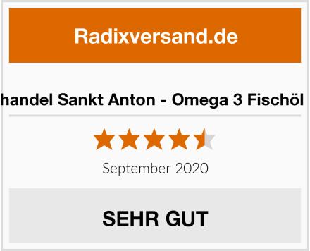 Kräuterhandel Sankt Anton - Omega 3 Fischöl Kapseln Test