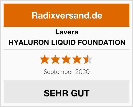 Lavera HYALURON LIQUID FOUNDATION Test
