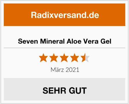 Seven Mineral Aloe Vera Gel Test