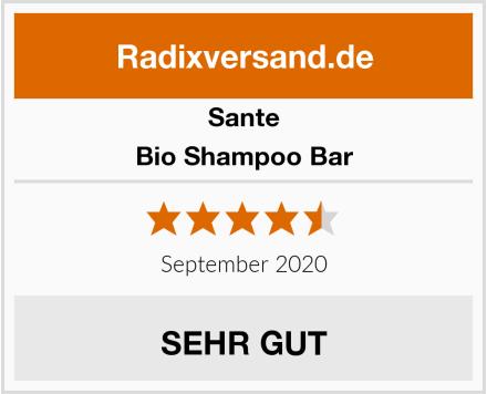 Sante Bio Shampoo Bar Test