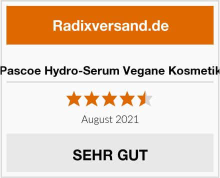 Pascoe Hydro-Serum Vegane Kosmetik Test