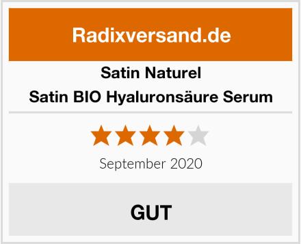 Satin Naturel Satin BIO Hyaluronsäure Serum Test