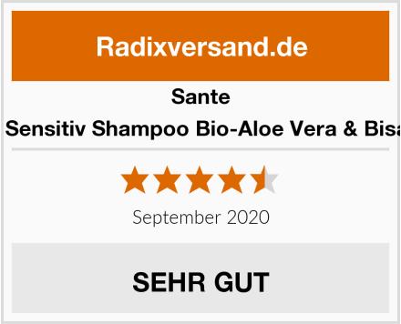 Sante Extra Sensitiv Shampoo Bio-Aloe Vera & Bisabolol Test