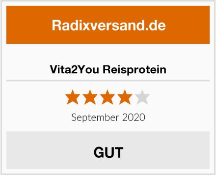 Vita2You Reisprotein Test