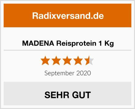 MADENA Reisprotein 1 Kg Test
