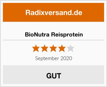 BioNutra Reisprotein Test