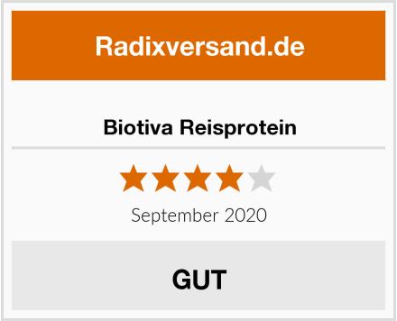 Biotiva Reisprotein Test