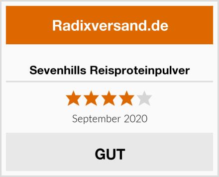 Sevenhills Reisproteinpulver Test