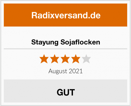 Stayung Sojaflocken Test