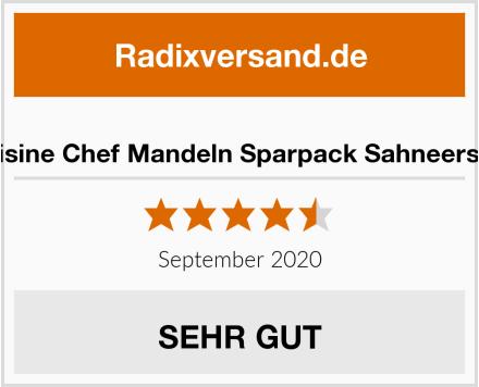 Cuisine Chef Mandeln Sparpack Sahneersatz Test