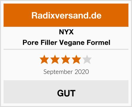 NYX Pore Filler Vegane Formel Test