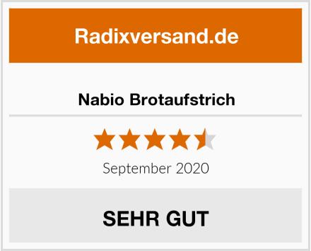 Nabio Brotaufstrich Test