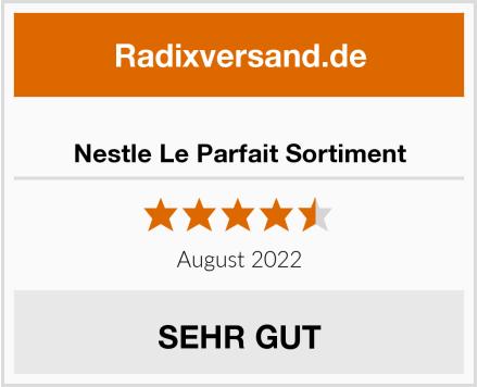 Nestle Le Parfait Sortiment Test