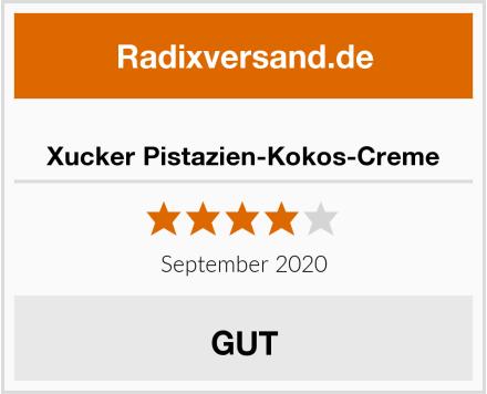 Xucker Pistazien-Kokos-Creme Test