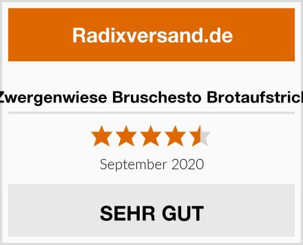 Zwergenwiese Bruschesto Brotaufstrich Test