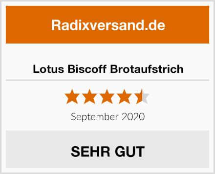 Lotus Biscoff Brotaufstrich Test
