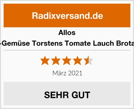 Allos Bio Hof-Gemüse Torstens Tomate Lauch Brotaufstrich Test