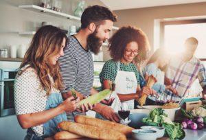 Vegane und vegetarische Produkte