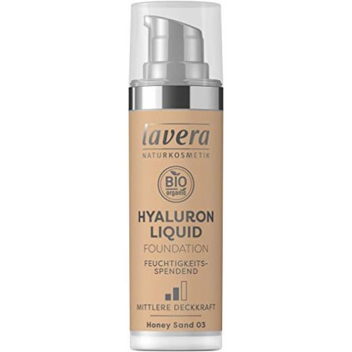 Lavera HYALURON LIQUID FOUNDATION - Honey Sand 03