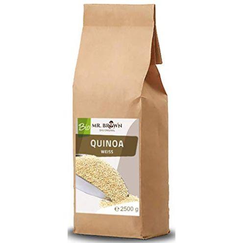 Mr. Brown BIO Quinoa weiß 2,5 KG