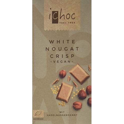 Vivani White Nougat Crisp-Rice Chocung Schokolade
