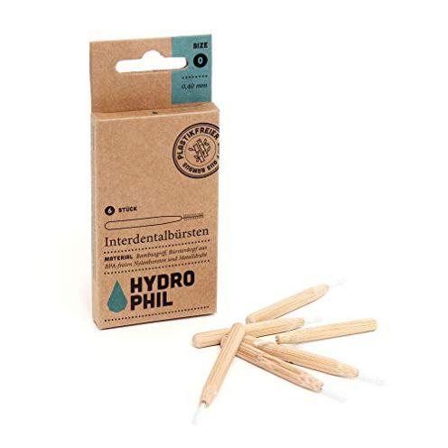 Hydrophil nachhaltige Interdentalbürsten aus Bambus