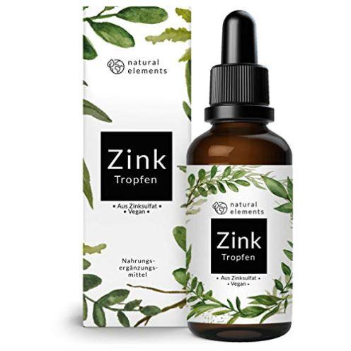 natural elements Zink Tropfen