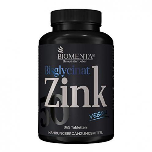 BIOMENTA Zink 50 mg