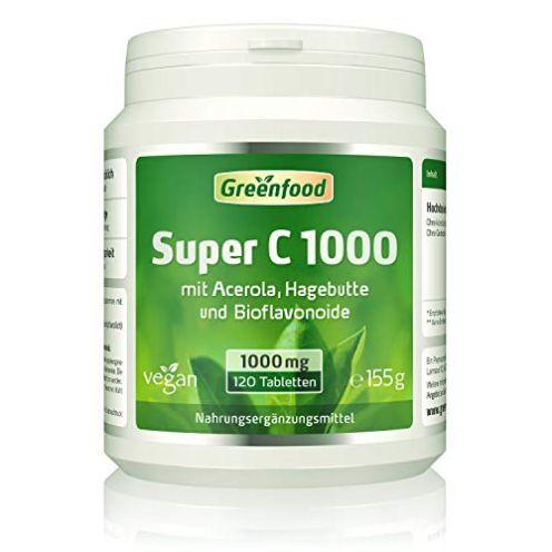 Greenfood Super C Vitamin C Tabletten