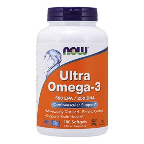 Now Foods Ultra Omega-3 500 EPA/250 DHA Weichkapseln