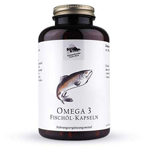 Kräuterhandel Sankt Anton - Omega 3 Fischöl Kapseln