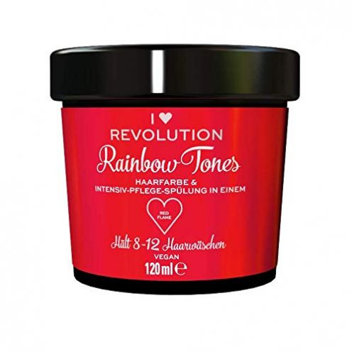 I Heart Revolution Rainbow Tones Red Flame