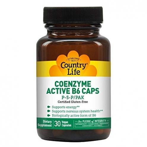 Country Life Aktiver B-6 Caps